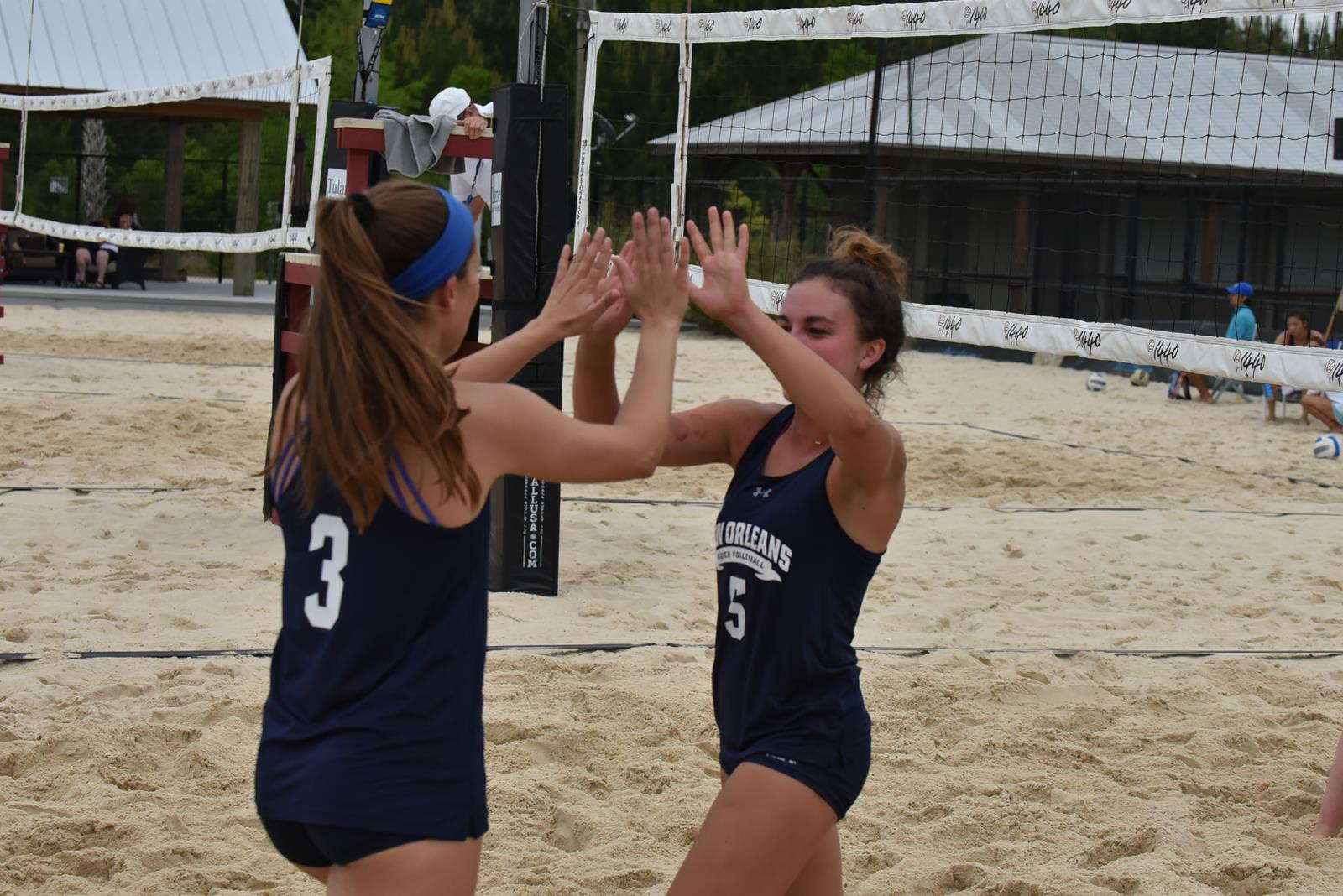 Inside The 2020 Beach Volleyball Schedule University Of New Orleans Athletics